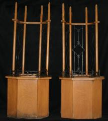 Torah Stands for use during Davening (Praying) from New Hope Congregation (Cincinnati, Ohio)