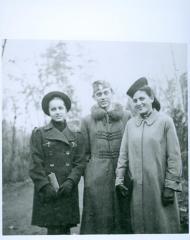 Anna Brünn (Ornstein), Andrew Brünn and Leah Blumberger