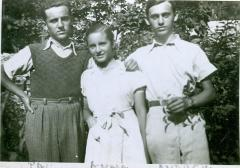 Paul, Anna and Andrew Brünn