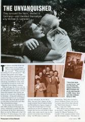 """The Unvanquished"" - article published in People Magazine"