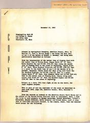 Building Plans for Northern Hills Synagogue Facilities 1963 ( Cincinnati, OH)