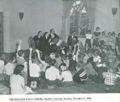 """""""Boulder Children Applaud LaSalle String Quartet in Concert Sunday"""" - unknown publication"""