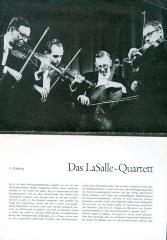 """Das LaSalle - Quartett"" - article in German"