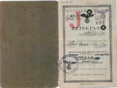 "Albert ""Al"" Miller (Muller) - German passport"