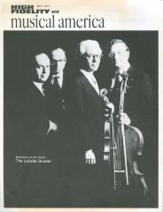 """""""Musicians of the month: The LaSalle Quartet"""" - High Fidelity and musical america"""