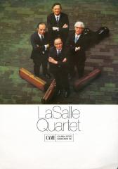 Advertisements for the LaSalle Quartet - Columbia Artists Management, Inc.