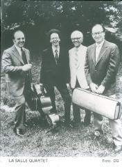 Photographs of the LaSalle Quartet