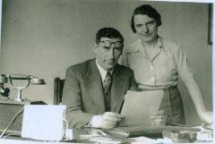 Mr. & Mrs. Alfred Muller