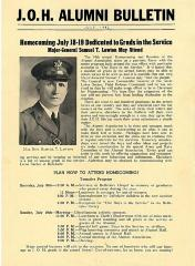 J.O.H Alumni Bulletin July, 1942 (Cincinnati, OH)